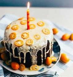Give Your Classic Chocolate Cake a Kumquat Kick!