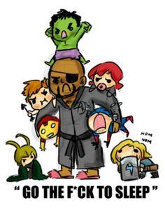 Loki & Thor made me laugh ^^