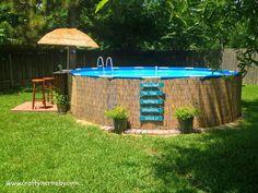Redneck Pool on Pinterest | Hay Bale Pool, Hay Pool and Homemade ...