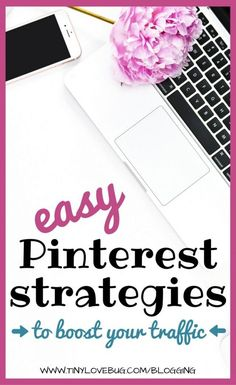 If used strategically, Pinterest is one of the most powerful tools to drive  traffic to your blog. Here are some easy Pinterest strategies for new  bloggers.