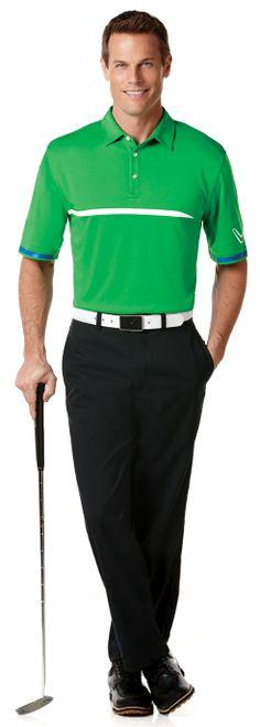 Brett Hollands for Callaway (Spring 2014) #BrettHollands #malemodel #model #malesupermodel #supermodel #Canadian #Callaway #PerryEllis #PEI #NextModels #FordModels_Chi #WilhelminaModel #apparel #golf #smile #polo #belt #green #iron #club