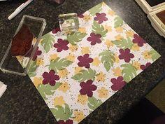 2016 Make your own Designer Paper using the  Botanical Blooms Photopolymer Stamp Set140757 Price: $17.00