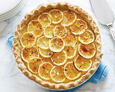 Brûléed Lemon Pie, I love lemon so this is lemon on overdrive!