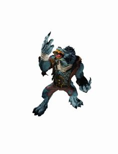 DC Unlimited World of Warcraft Series 7 Worgen Spy Garm Whitefang Action Figure -- Want additional info? Click on the image. (This is an affiliate link) #DCComics