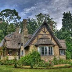 Storybook cottage where dreams begin.