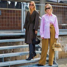 Las calles de Copenhagen fueron una verdadera pasarela donde estilosas danesas nos cautivaron con outfits súper modernos y llenos de color!