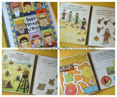 Cute Book of Mormon Stories activity book digital download #LDS #FHE