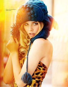 #Elle_Russia_2009_12 / «I Love New York» / #Erez_Sabag / #Katya_Mukhina