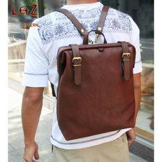 PDF bag patterns bag sewing patterns Rucksack Backpack Knapsack BDQ-23 LZpattern hand stitched leather leather art leather bags patterns