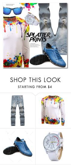 """""""Untitled #2521"""" by svijetlana ❤ liked on Polyvore featuring men's fashion and menswear"""
