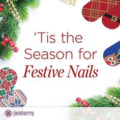 Jamberry Nails are a PERFECT HOLIDAY accessory! A Jamberry manicure lasts 2 weeks! Best of all, sheets are Buy Get 1 FREE! (One sheet will do 2 manis and 2 pedis with several accent nails leftover) Jamberry Gift, Jamberry Party, Jamberry Nail Wraps, Holiday 2014, Holiday Gift Guide, Holiday Gifts, Holiday Decor, Jamberry Christmas, Christmas Nails