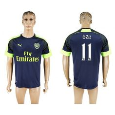 Arsenal 16-17  Mesut #Ozil 11 TRödjeställ Kortärmad,259,28KR,shirtshopservice@gmail.com