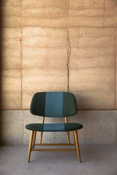 sleek seating upholstered with sunbrella fabrics, modern seating