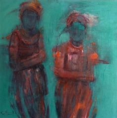 You can see Karol Honeycutt's remarkable artwork at Tubac Art and Gifts in Tubac Arizona