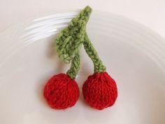Cherry Knitting Pattern