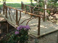 rustic backyard footbridge | images are in wooden footbridge poa southern footbridge that was ...