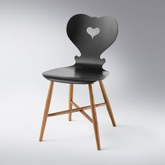 Trix Chair Anthracite, 360€, now featured on Fab.