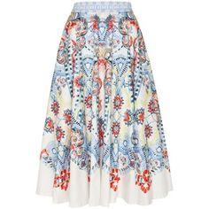 Temperley London Pavan Print Skirt