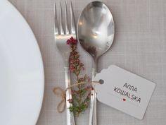 Zaproszenia ślubne - Winietki etykiety 3