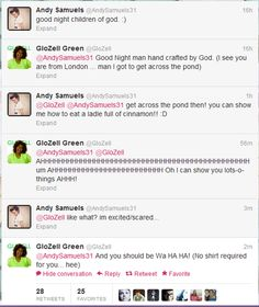 GloZell and Andy= perfection I am seriously dying here. I am really excited/scared too! This better happen! lol