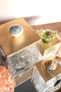 DIY: DECORATED ACRYLIC BOXES