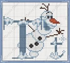 Resultado de imagem para alfabeto frozen em ponto cruz