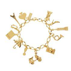 kate spade   things we love charm bracelet