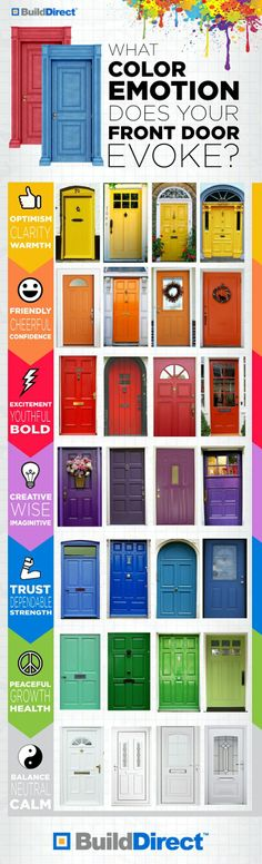 Doors and Color: What Emotion Does Yours Evoke?.
