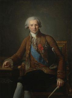 vigee le brun DE CALONNE   ... Louise Vigée-Le Brun – Portrait of Comte de Vaudreuil (1740–1817