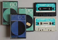 Üres audio kazetták (80's)