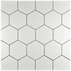 Hexitile features a hexagonal shape that is perfect for historical renovations or modern installations. Being impervious to water, these tiles are ideal for back splashes and even offer frost resistance for some exterior work.