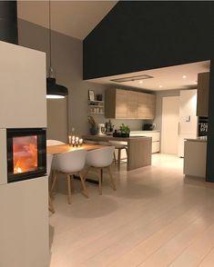 December 03 2019 at Kitchen Dinning, Kitchen Decor, Home Living, Living Room Decor, Küchen Design, Interior Design, Dining Room Design, Home Fashion, Kitchen Interior
