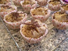 Almond-Banana Muffins (Gluten Free, Sugar-Free, Dairy-Free)