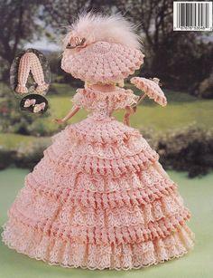 1848 Georgia Peach Vol 37 Paradise Publications Crochet Doll