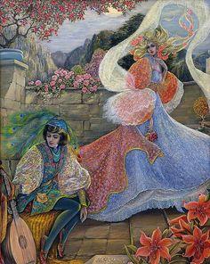 Pamela Colebourn (British, 19/20th century)   The Rose