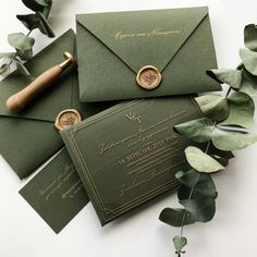 Engraved wedding invitation are simply gorgeous and impressive Acrylic Wedding Invitations, Green Wedding Invitations, Wedding Invitation Cards, Wedding Cards, Wedding Goals, Our Wedding, Dream Wedding, Cake Wedding, Wedding Venues