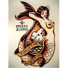 Retro tattoo design