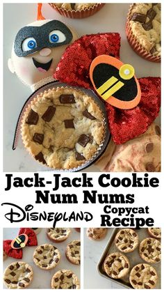 Sharing my Jack Jack Cookie Num Nums, Disneyland Copycat recipe today!  Packed with chocolate chunks and perfectly sweet! Enjoy!