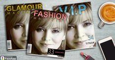 Hogyan néznél ki híres magazinok címlapján?