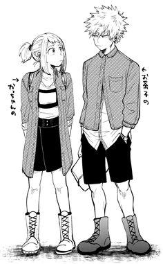Ochako and Kacchan