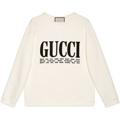 Gucci Gucci Cities Print Sweatshirt (€875) ❤ liked on Polyvore featuring tops, hoodies, sweatshirts, ready-to-wear, sweatshirts & t-shirts, women, patterned sweatshirts, print sweatshirt, print top and gucci sweatshirt