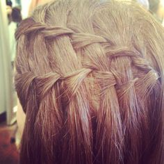 Double Waterfall Braid, by Charmin Sacauskas