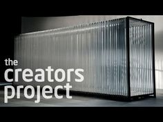 Here is another video from the creators project. it deals with a users experience and how they react/interact with it. I thought it was interesting. The main thing I want to create with this project is an unusual user experience which I feel this does.