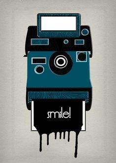 "Curioos.com   ""Smile!"" by jamila hodges (United Kingdom) - RECTO - VERSO"