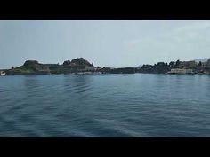 Traveling by boat to Corfu   Traveldudes.org Mykonos Greece, Crete Greece, Athens Greece, Santorini, Places To Travel, Travel Destinations, Greek Isles, Greece Islands, Corfu