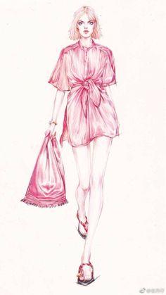 Dress Design Drawing, Dress Design Sketches, Fashion Design Sketchbook, Fashion Design Drawings, Fashion Sketches, Fashion Drawing Dresses, Fashion Illustration Dresses, Illustration Girl, Fashion Figures