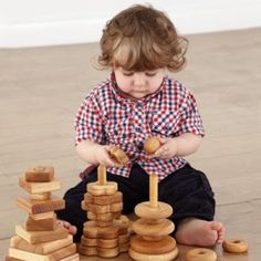 Environments to Support Babies & Toddlers - Beautiful Wooden Pyramids support fine motor development - Stack them, roll them, transport them! Activities For 2 Year Olds, Fine Motor, Toddlers, Environment, Nursery, Babies, Play, Toys, Beautiful