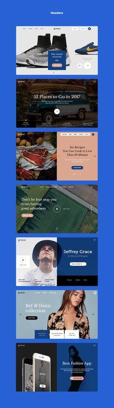 Благодать-это современный и минималистичный комплект пользовательского интерфейса, которые помогут вам упростить вашу работу.Включает в себя 7 популярных категорий: заголовки, электронной коммерции, блог/журнал, СМИ, форм, навигации, локации и Стайл-Гайда.Все компоненты гибким и простым в использовании. Создать красивые…