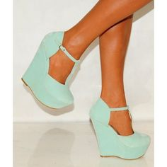 -- This site is full of really good finds Mint Green Wedges (USD These are so pretty Dream Shoes, Crazy Shoes, Zapatos Shoes, Shoes Heels, Mint Shoes, Athleisure, Cute Shoes, Me Too Shoes, Green Wedges
