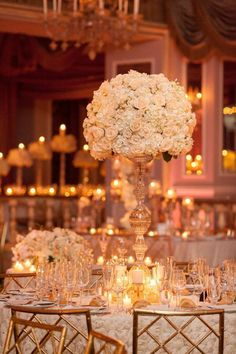 http://www.modwedding.com/2014/10/13/breathtaking-new-york-wedding-with-ballroom-glamour-decor/ #wedding #weddings Photo: Captured Photography